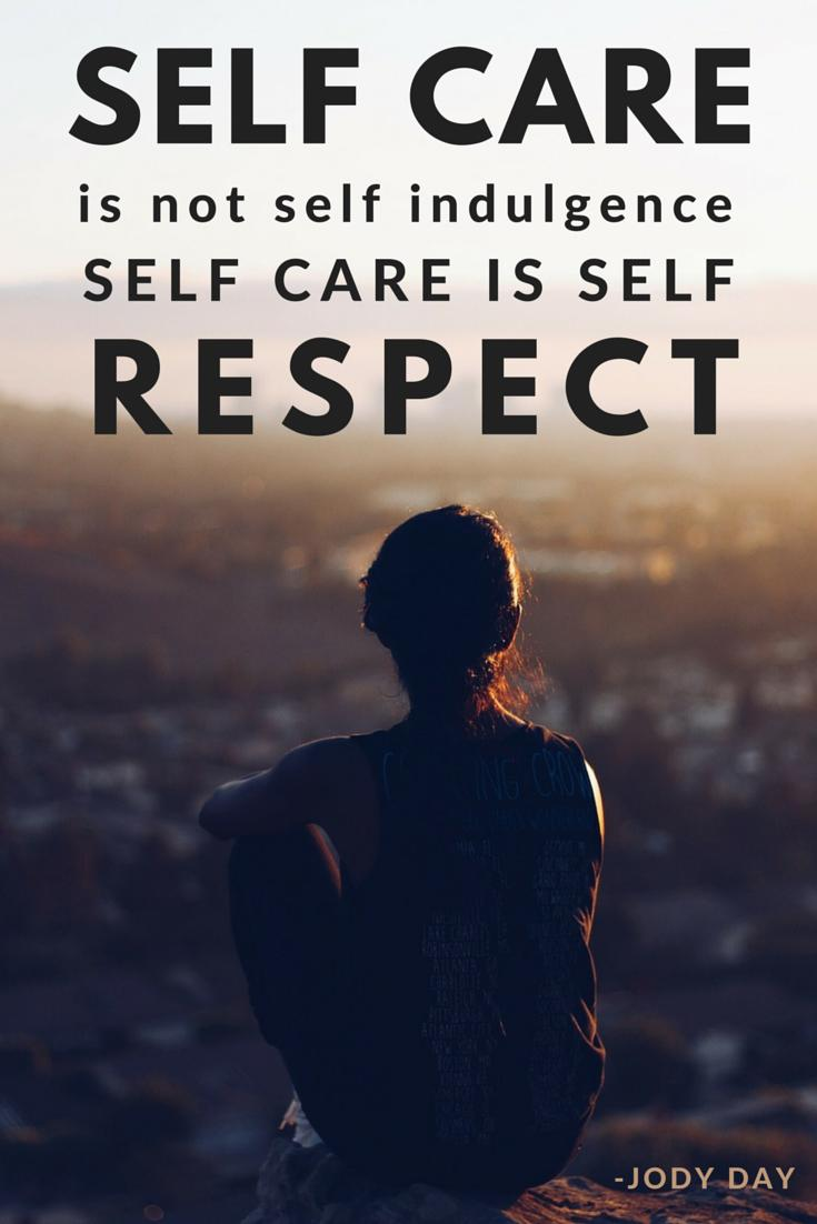 self-care is about respecting yourself | Bree Taylor Molyneaux