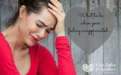 what to do when you feel unappreciated as a woman