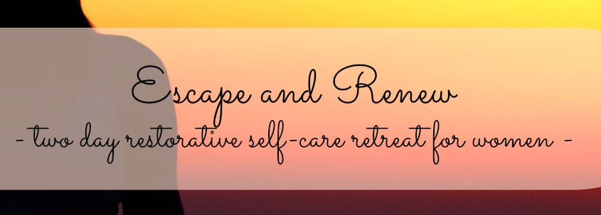 escape and renew | self-care retreat for mothers