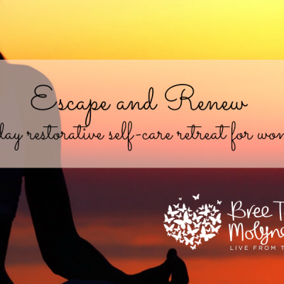 Escape and renew womens wellness retreat Qld with Bree Taylor Molyneaux