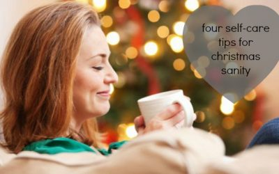 Four self-care tips for Christmas sanity!