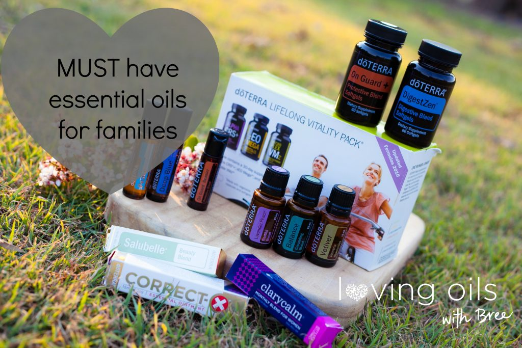 MUST have essential oils for families | Bree Taylor Molyneaux