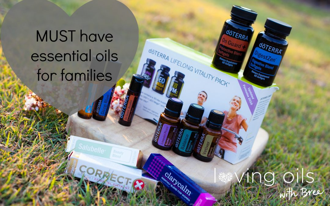 MUST HAVE essential oils for families