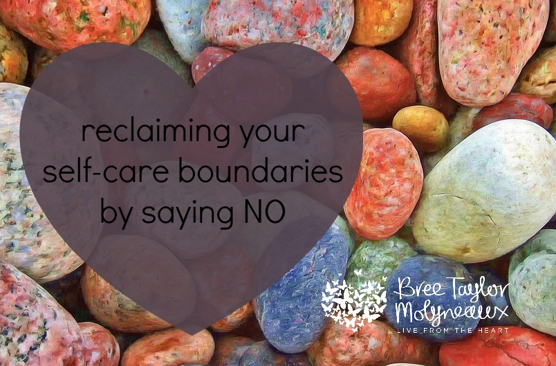 reclaiming self-care and saying NO