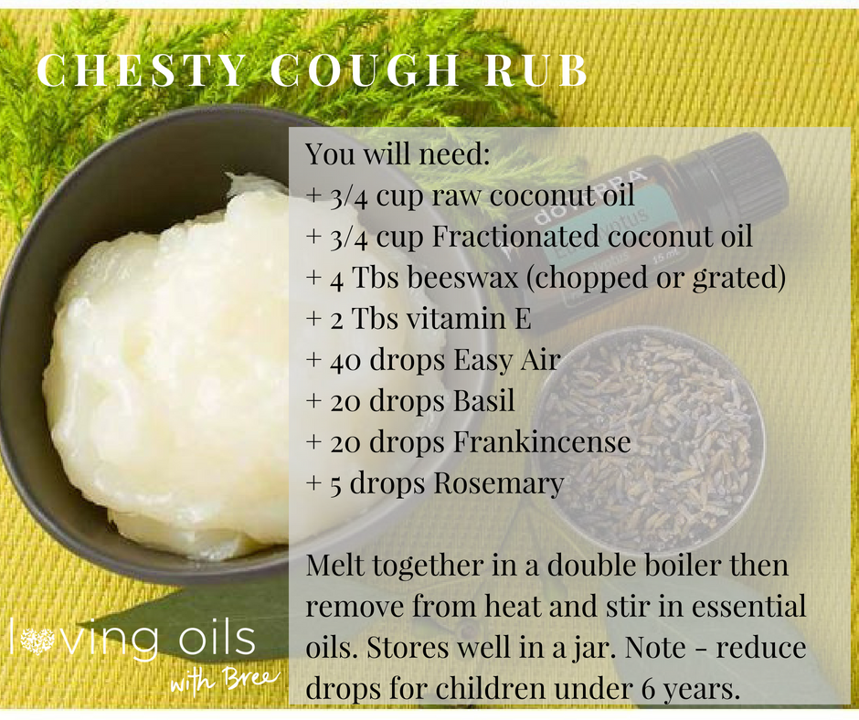Cough chest salve | Bree Taylor Molyneaux