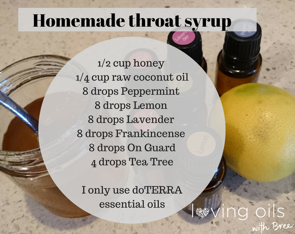 Throat syrup for winter | Bree Taylor Molyneaux