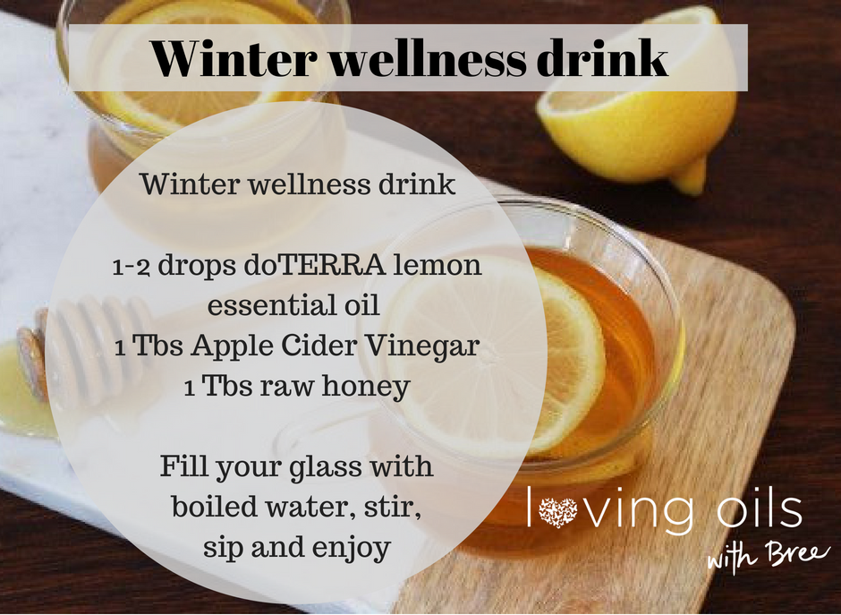 Winter wellness lemon drink | Bree Taylor Molyneaux