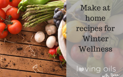 Winter wellness – simple make at home recipes