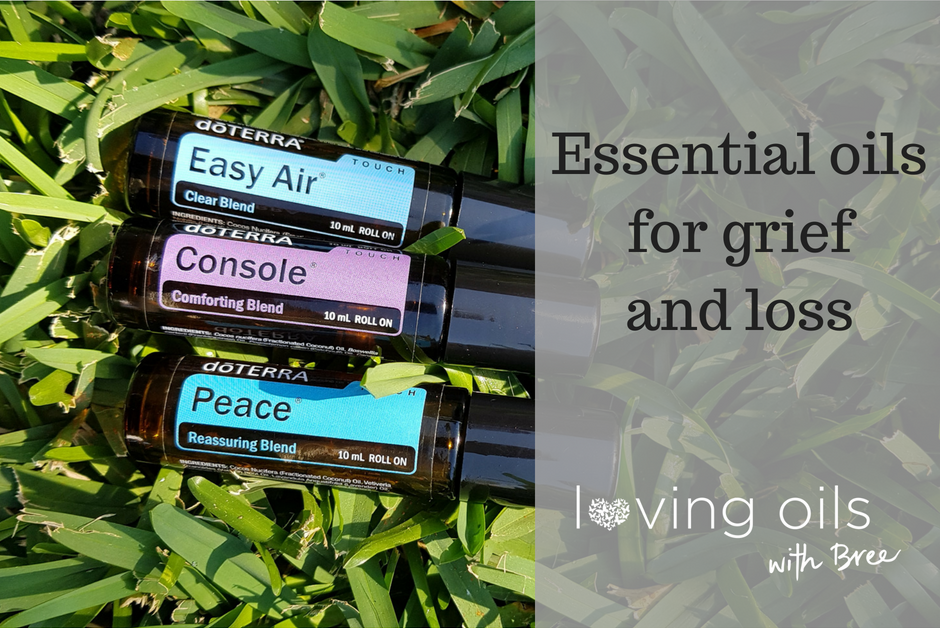Essential oils for support with grief and loss