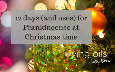 12 days of Frankincense for Christmas