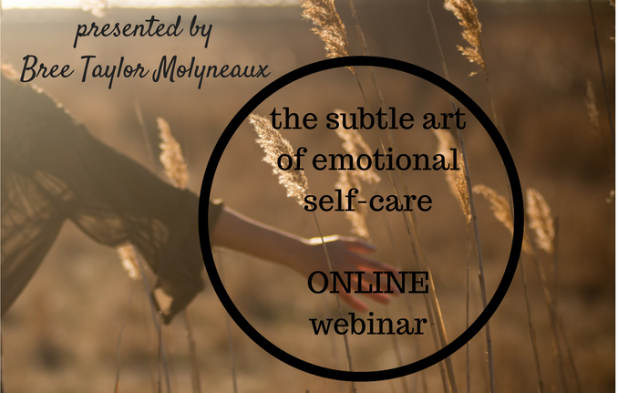 The subtle art of Emotional self care