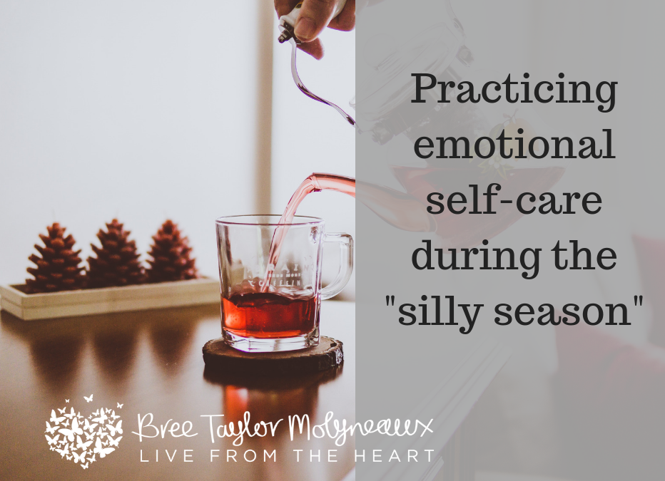 Practicing emotional self-care during silly season