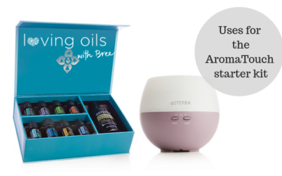 The very versatile AromaTouch starter kit
