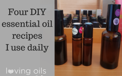 DIY oil blends and remedies I use daily
